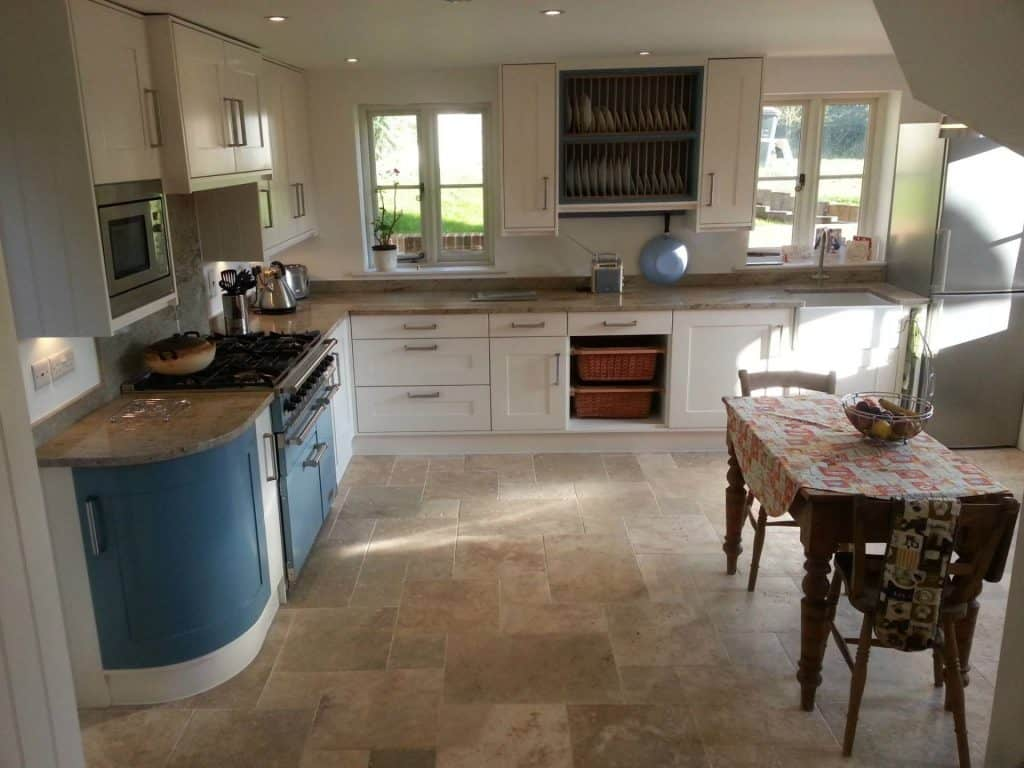 This simple Shaker style kitchen fitted in with the character of our client's property.